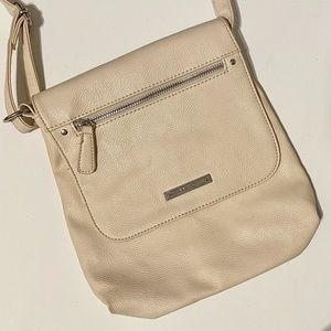 Nine West Beige Crossbody Bag